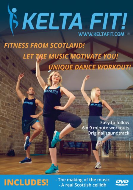 Kelta Fit DVD Cover